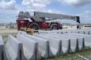 Crane Setting Barriers